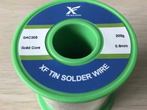 Solder Wire SAC305 (Sn96.5Ag3.0Cu0.5) Solid Core
