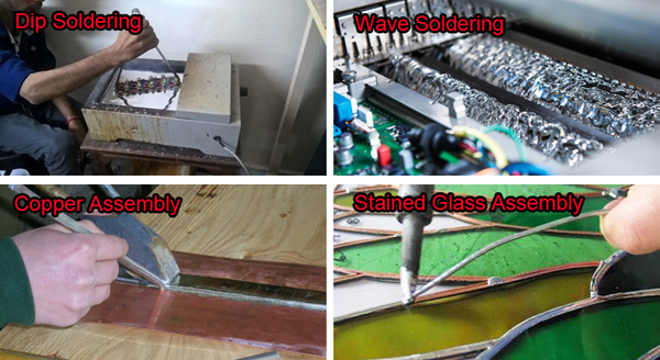 solder bar application